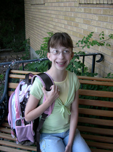 The first day of school a long time ago....